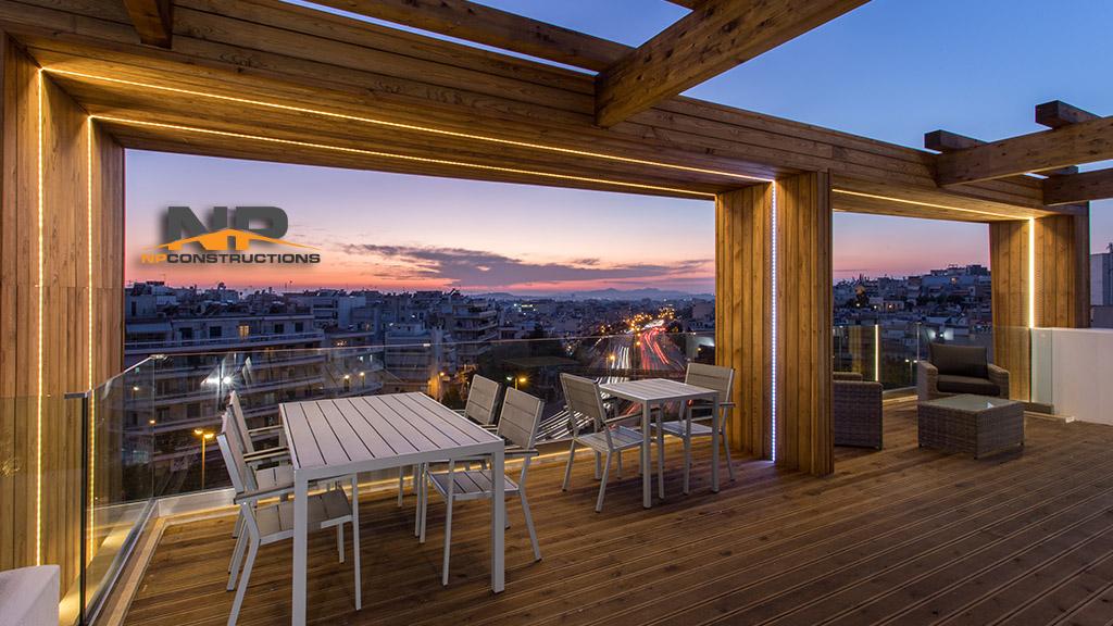 Ανακαίνιση και μετατροπή παλαιού κτιρίου σε ξενοδοχείο (Hotel Apartments) στο κέντρο της Αθήνας